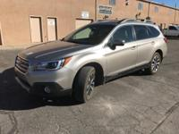 Options:  2015 Subaru Outback 3.6R|Gray|Four New
