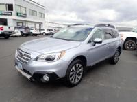 CARFAX One-Owner. 2015 Subaru Outback 3.6R Blue One