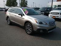 This 2015 Subaru Outback 3.6R Limited is proudly