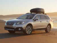 2015 Subaru Outback 3.6R in Crystal White custom