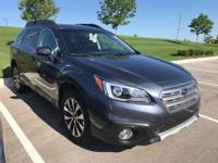 2015 Subaru Outback 3.6R. Subaru Certified! AWD! Your