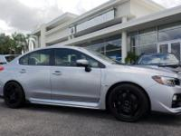 CARFAX 1-Owner, GREAT MILES 17,906! WRX STI trim.