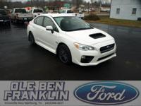 Options:  2015 Subaru Wrx|Crystal White Pearl/Carbon