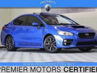 Options:  2015 Subaru Wrx Premium|Blue|2.0L 4