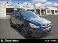 CARFAX One-Owner. Black 2015 Subaru XV Crosstrek 2.0i