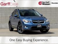 CARFAX One-Owner. Clean CARFAX. Quartz Blue 2015 Subaru