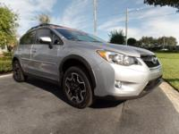 This 2015 Subaru XV Crosstrek featured in Silver
