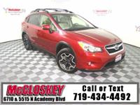 Cross on Over to this Great Crosstrek! All Wheel Drive,