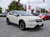 SUBARU CERTIFIED - ONE OWNER!! This 2015 Subaru XV