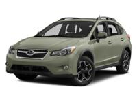 Come see this 2015 Subaru XV Crosstrek Premium. Its