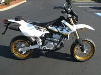 It's not unusual to take the SuperMoto down twisty
