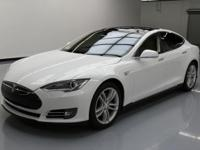 2015 Tesla Model S with Premium Interior and Lighting