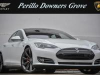 Options:  2015 Tesla Model S P85d|White Solid/Blac K|V