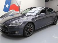 2015 Tesla Model S with All Wheel Drive,Midnight Silver