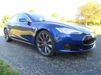 2015 Tesla Model S P90D Ludicrous Mode with AutoPilot.