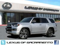 CARFAX One Owner. 4WD, Classic Silver Metallic,