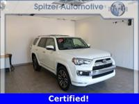 Toyota 4Runner Limited CARFAX One-Owner. Certified.