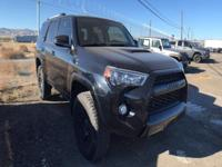 Options:  2015 Toyota 4Runner|4 Wheel Drive** One Of
