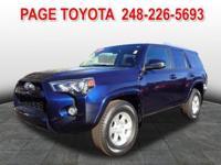 Toyota Certified, 17 x 7.0 6-Spoke Alloy Wheels, ABS