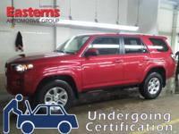 Options:  2015 Toyota 4Runner Sr5|Red|2015 Toyota