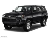 Options:  2015 Toyota 4Runner Sr5|4X4 Sr5 4Dr Suv|Make
