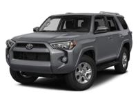 NAVIGATION. 4Runner SR5, 5-Speed Automatic with