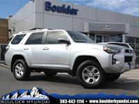 4WD. Like new. Low miles mean barely used.Be the talk
