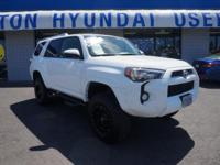 Recent Arrival! 2015 Toyota 4Runner White 4WD. Odometer