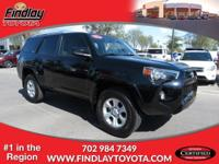 ~ 2015 Toyota 4Runner SR5 ~ CARFAX: 1-Owner, Buy Back