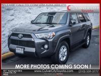 Options:  2015 Toyota 4Runner Sr5 Premium|Gray|Toyota