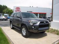 2015 Toyota 4Runner Certified. CARFAX One-Owner.