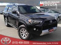 4Runner Trail, Toyota Certified, 4D Sport Utility, 4.0L