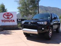 4WD. Clean CARFAX. Attitude Black 2015 Toyota 4Runner