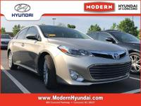 CARFAX One-Owner. Tan 2015 Toyota Avalon Hybrid Limited