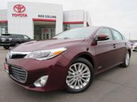 This 2015 Toyota Avalon comes equipped with heated