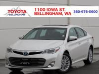 CERTIFIED * HYBRID * XLE TOURING * CARFAX 1-OWNER * NO