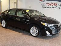 New Price! 2015 Black Toyota Avalon CALL, TEXT OR EMAIL