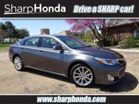 Gray 2015 Toyota Avalon Limited FWD 6-Speed Automatic