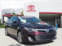 This 2015 Toyota Avalon Limited is offered to you for