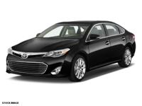 We are excited to offer this 2015 Toyota Avalon. Your