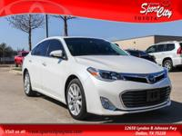 Carfax One Owner, Clean Vehicle History Report, Avalon