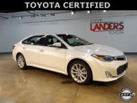 Toyota Certified. Limited, Navigation System, Power