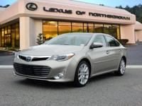 2015 Toyota Avalon Limited in Creme Brulee, SUNROOF /