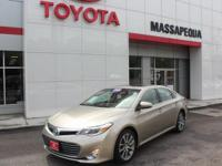 Certified. Tn 2015 Toyota Avalon XLE Touring FWD