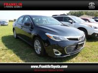 Avalon XLE. Welcome to Franklin Toyota! You NEED to see
