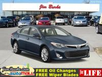 This 2015 Toyota Avalon XLE is a 100% Carfax Guarantee