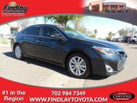 XLE trim. Toyota Certified, CARFAX 1-Owner, GREAT MILES