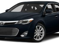Creampuff! This gorgeous 2015 Toyota Avalon is not