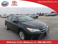 Recent Arrival! 2015 Toyota Camry Hybrid LE Gray Toyota