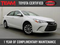 *GREAT VALUE* 2015 Toyota Certified Camry LE that